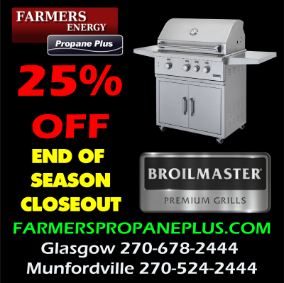 25% OFF BROILMASTER GRILLS