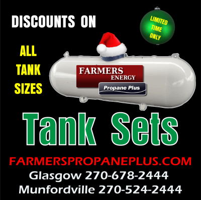TANK SET DISCOUNTS CALL NOW!